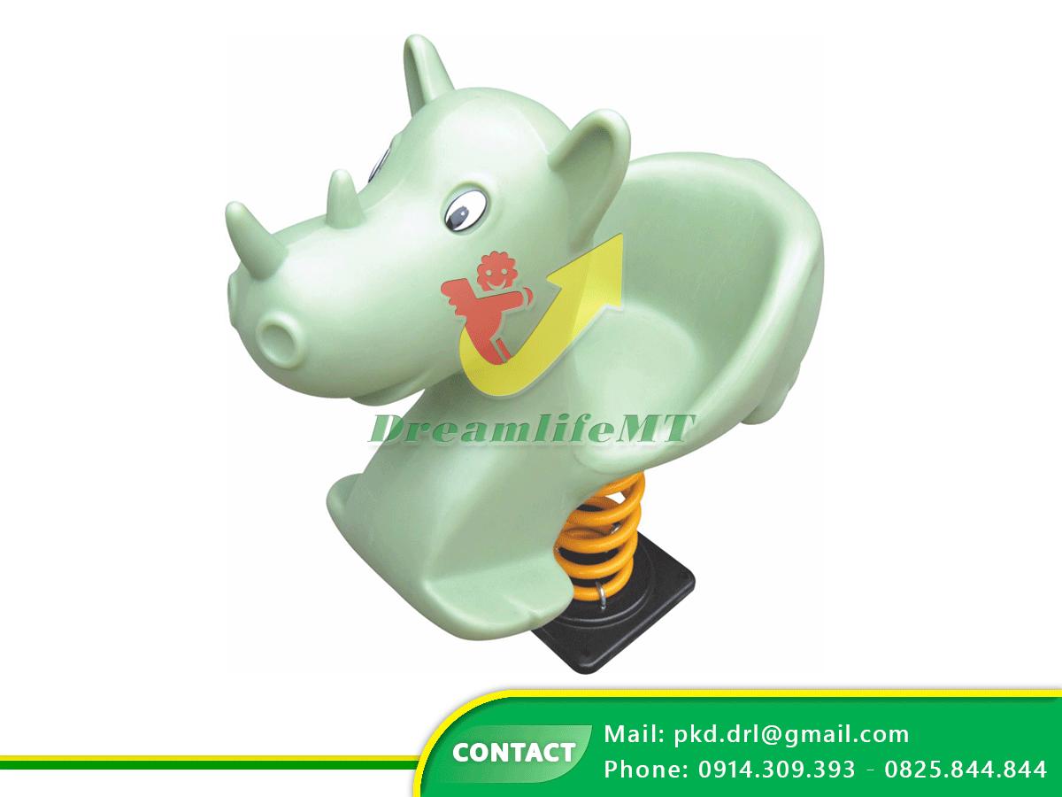 DREAMLIFE MT cung cấp thú nhún lò xo bằng nhựa LLDPE cho bé