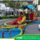 Hoàn thiện dự án sân chơi ngoài trời tại Laviat Charm