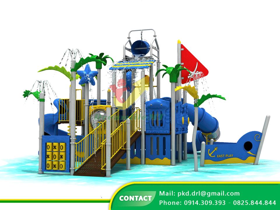 Nhà liên hoàn sân chơi nước