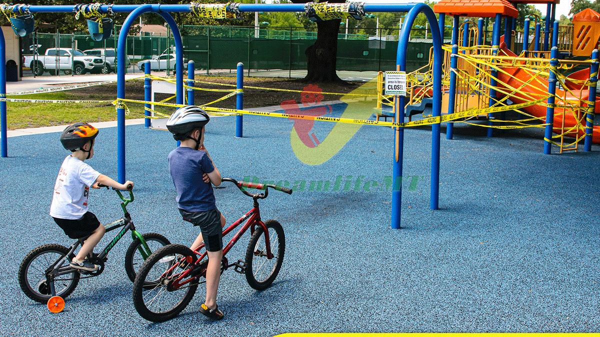 Sân chơi trẻ em hậu giãn cách xã hội